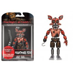 Five Nights at Freddy's Action Figure Nightmare Foxy 13 cm