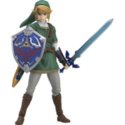 The Legend of Zelda Twilight Princess Figma Action Figure Link 14 cm