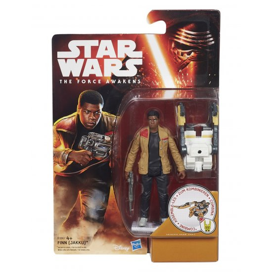 Star Wars: The Force Awakens - Finn (Jakku) - action figures