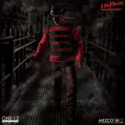 Nightmare On Elm Street Action Figure 1/12 Freddy Krueger 17 cm