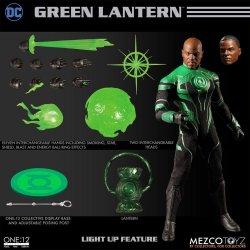 DC Comics Light-Up Action Figure 1/12 John Stewart - The Green Lantern 17 cm