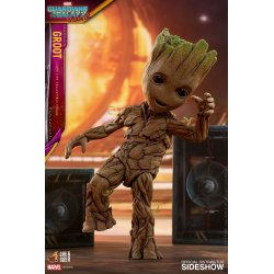 Guardians of the Galaxy Vol. 2 Life-Size Masterpiece Actionfigur Groot Slim Version 26 cm