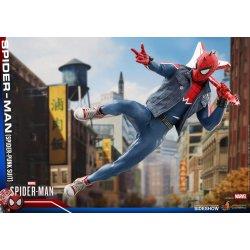 Marvel's Spider-Man Video Game Masterpiece Action Figure 1/6 Spider-Punk 30 cm