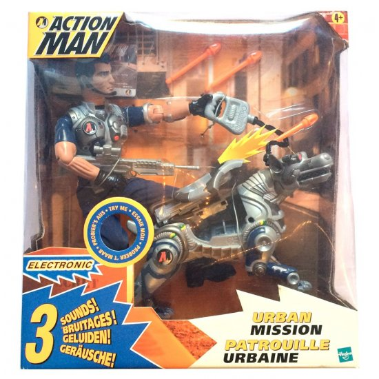 Action Man - Urban Mission - action figures
