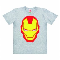 Iron Man – T-Shirt Kids – Gray