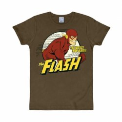 The Flash – T-Shirt Kids – Mustang Brown