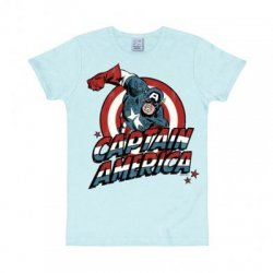 Captain America – T-Shirt Kids – Light Blue