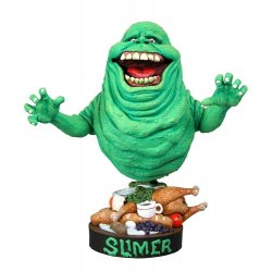 Ghostbusters Head Knocker Bobble-Head Slimer 18 cm
