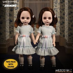 The Shining Living Dead Dolls Talking Grady Twins 25 cm
