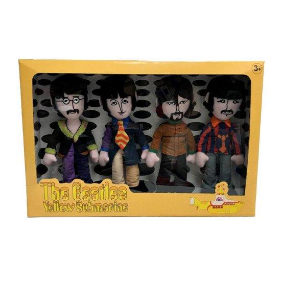 The Beatles Plush Figure 4-Pack Yellow Submarine Band Members 23 cm