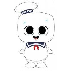 Ghostbusters Super Cute Plush Figure Stay Puft 18 cm