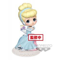 Disney Q Posket Perfumagic Mini Figure Cinderella Pastel Color Ver. 12 cm