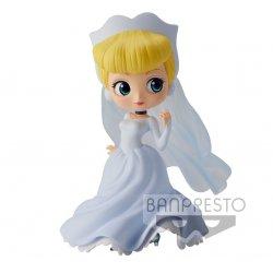 Disney Q Posket Mini Figure Cinderella Dreamy Style Normal Color Ver. 14 cm