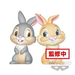 Disney Fluffy Puffy Mini Figures 2-Pack Thumper & Miss Bunny 8 cm
