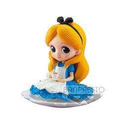 Disney Q Posket SUGIRLY Mini Figure Alice Normal Color Ver. 9 cm