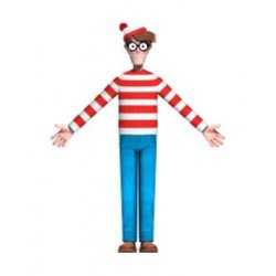Where's Waldo? Bendable Figure Waldo 14 cm