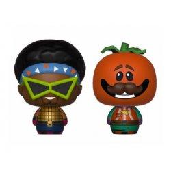 Fortnite Pint Size Heroes Mini Figures 2-Pack Funkops & Tomatohead 6 cm
