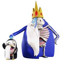Adventure Time XXRAY PLUS Figures 2-Pack Ice King & Gunter 11-21 cm