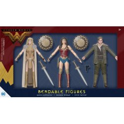 Wonder Woman Movie Bendable Figures 3-Pack 14 cm