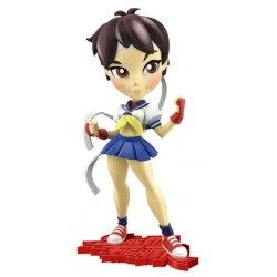 Street Fighter Knockouts Vinyl Figure Serie 1 Sakura 18 cm