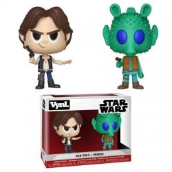Star Wars VYNL Vinyl Figures 2-Pack Han Solo & Greedo 10 cm