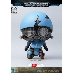 Transformers The Last Knight Super Deformed Vinyl Figure Sqweeks 10 cm