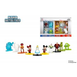 Disney Nano Metalfigs Diecast Mini Figures 10-Pack Wave 1 4 cm