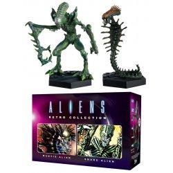 Aliens Retro Collection Figure 2-Pack Mantis Alien & Snake Alien 13 cm