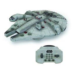Star Wars Episode VII RC Vehicle with Sound & Light Up U-Command Millenium Falcon 30 cm