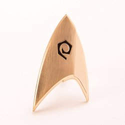 Star Trek Discovery Replica 1/1 Magnetic Starfleet Operations Division Badge