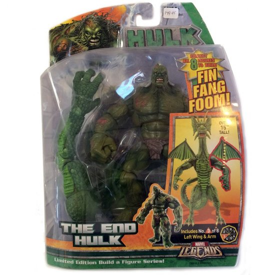 Hulk Fin Fang Foom - End Hulk