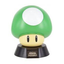 Super Mario Bros 3D Icon Light 1Up Mushroom 10 cm