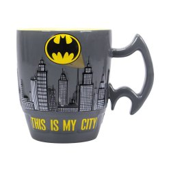 Batman Embossed Mug City Scene