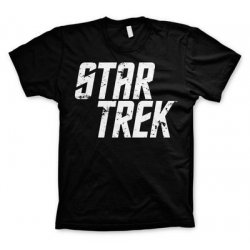 Star Trek Distressed Logo T-Shirt (black) - action figures