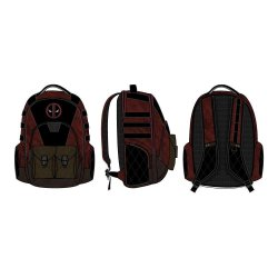 Marvel Built Up Backpack Deadpool