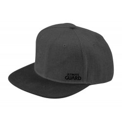 Ultimate Guard Snapback Cap Black