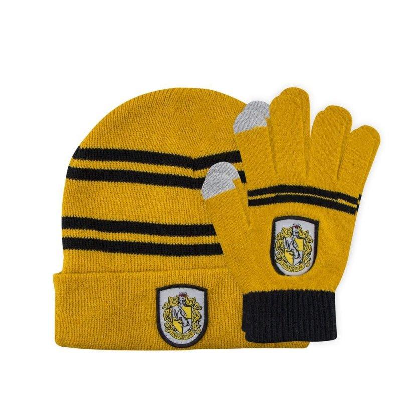 16837921b73 Harry Potter Beanie   Gloves Set for Kids Hufflepuff. Loading zoom