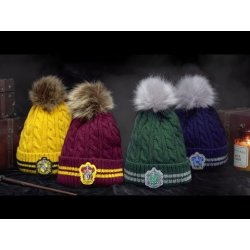 Harry Potter Pom-Pom Beanie Slytherin