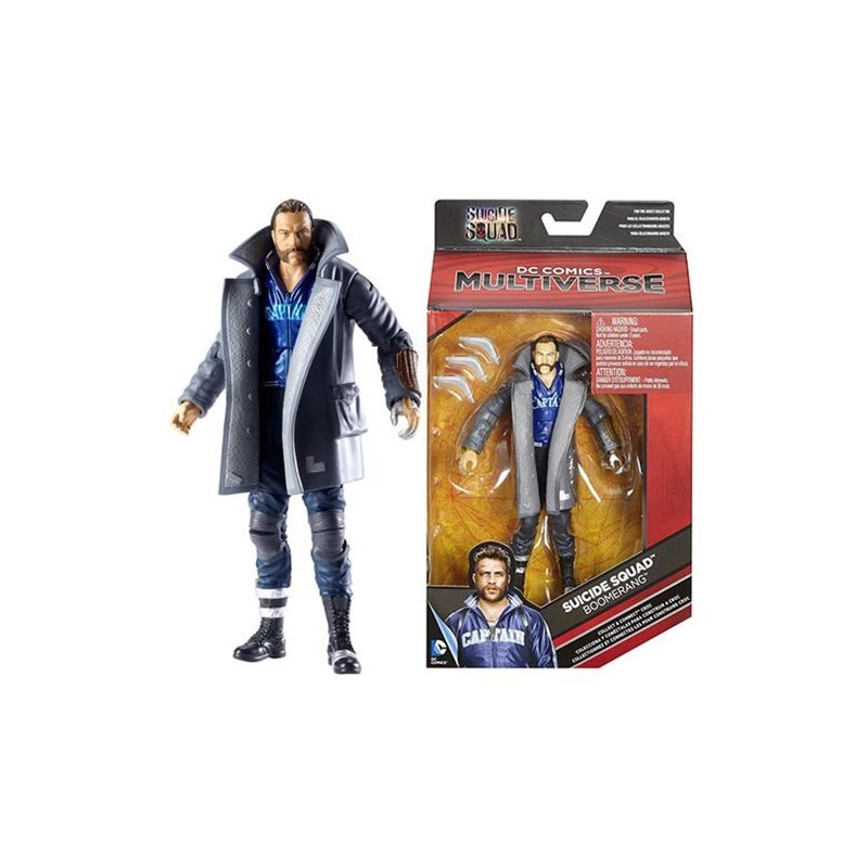 DC Multiverse Suicide Squad - Boomerang 6-Inch - action figures