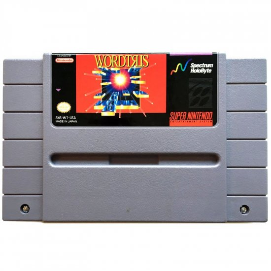 Super Nintendo - Wordtris (NTSC)
