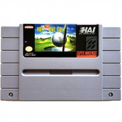 Super Nintendo - Hole in One Golf (NTSC)