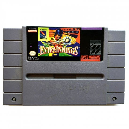 Super Nintendo - Extra Innings (NTSC)