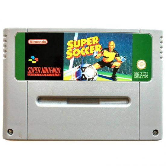 Super Nintendo - Super Soccer - action figures