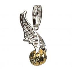 Harry Potter Bracelet Charm Lumos Golden Snitch