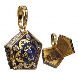 Harry Potter Bracelet Charm Lumos Chocolate Frog