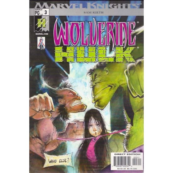 Hulk Wolverine 3 - action figures