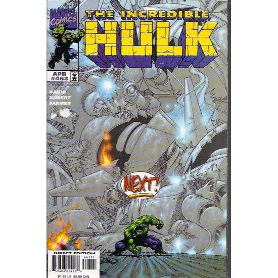 Incredible Hulk (1st Series) 463 - action figures