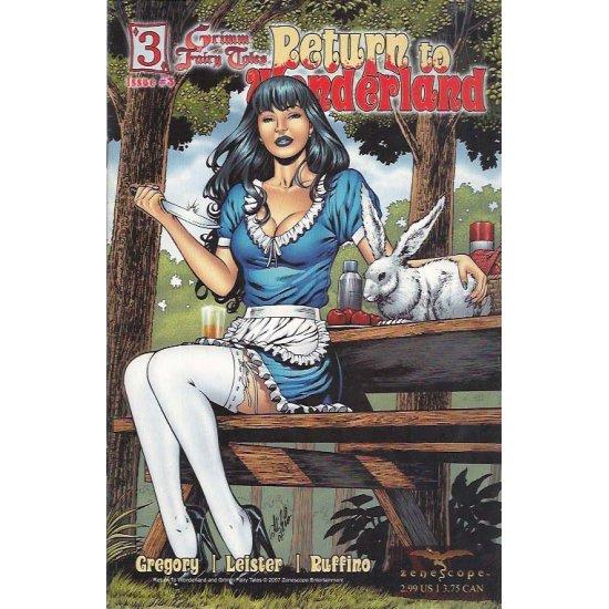 Grimm Fairy Tales Return to Wonderland 3B