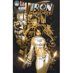 Iron and the Maiden 1B - action figures