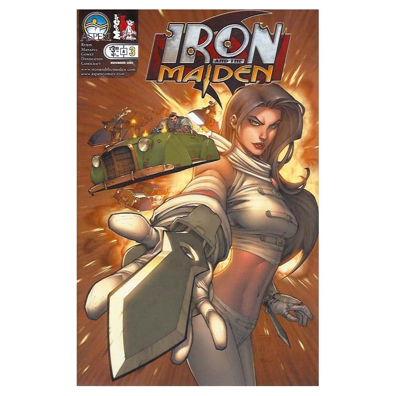 Iron and the Maiden 3A - action figures
